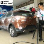 Quét 3d xe ô tô Hyundai i10