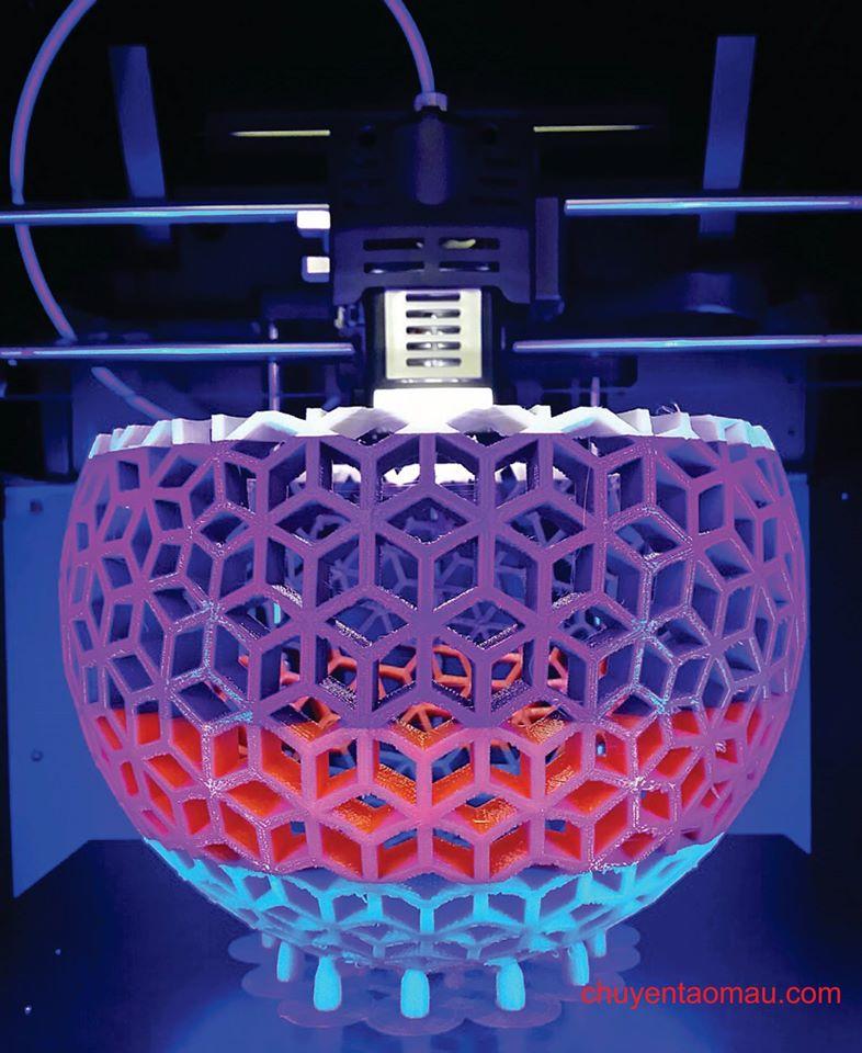 Sợi nhựa (filament) CUBIcon với đa dạng màu sắc và cơ lý tính