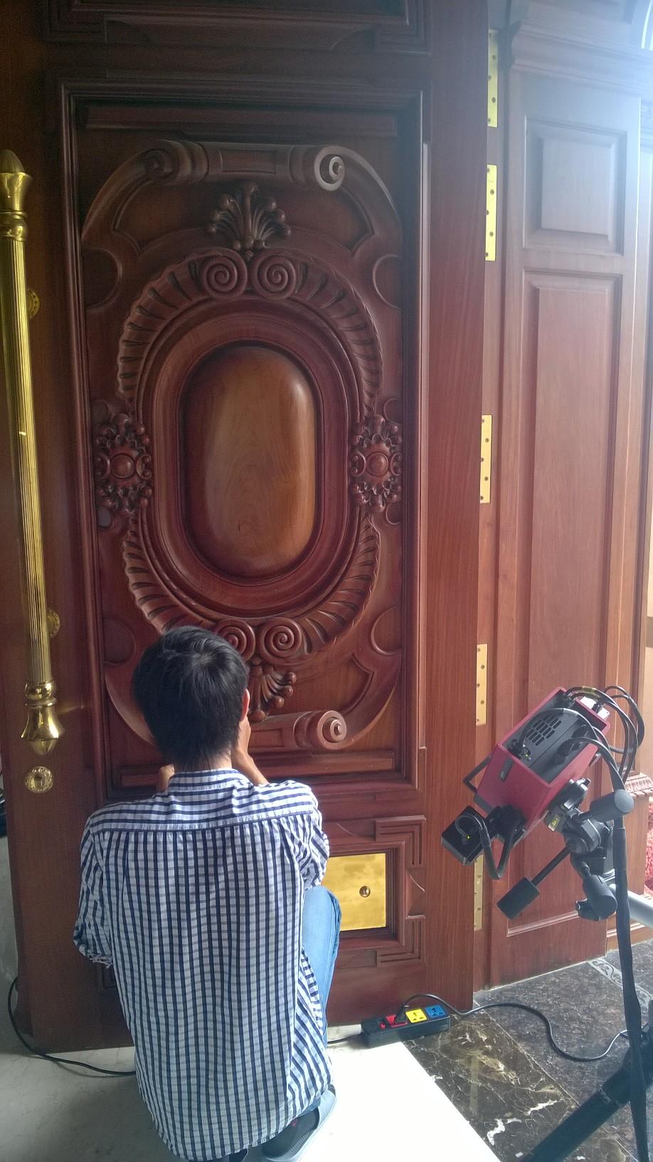 Scan Cua Go - Biet Thu Phu My Hung - Scan3d.com.vn (2)