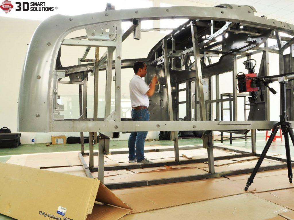 Hệ thống đo quét 3D linh động mọi địa hình