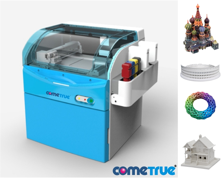 ComeTrue-T10-Full-Color-Desktop-3D-Printer