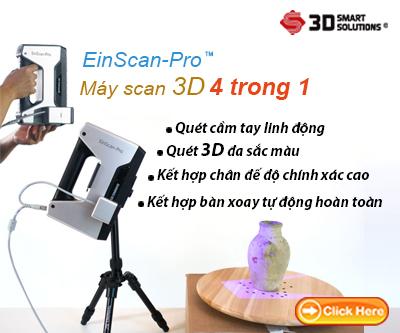 máy quét 3d cầm tay Einscan-pro