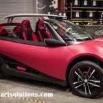 Ra đời xe ô tô đầu tiên được sản xuất bằng quy trình in 3D