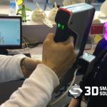 Quét 3d Khuôn Mặt Với Máy Einscan-Pro Tại Triển Lãm Tct Châu Á