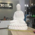 Tạo mẫu nhanh Tượng Phật ngồi cao 1 mét