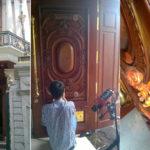 Quét 3d cửa gỗ Biệt thự Phú Mỹ Hưng