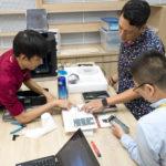 Lắp đặt máy in 3d tại trường ISHCMC Primary Campus