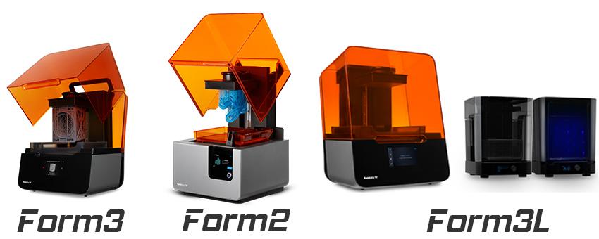 formlab form 2 - form 3