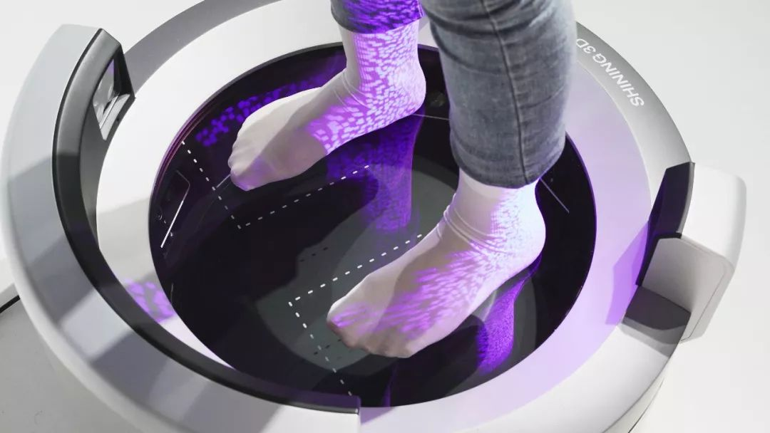 Máy quét 3d bàn chân
