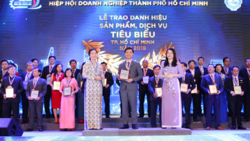 3D Smart Solutions đón nhận danh hiệu tiêu biểu Tp.HCM 2019