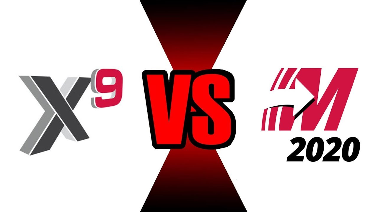 MasterCAM X9 vs MasterCAM 2020