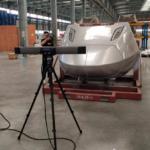 Kiểm tra 3D đầu tàu cao tốc bằng Freescan Trak