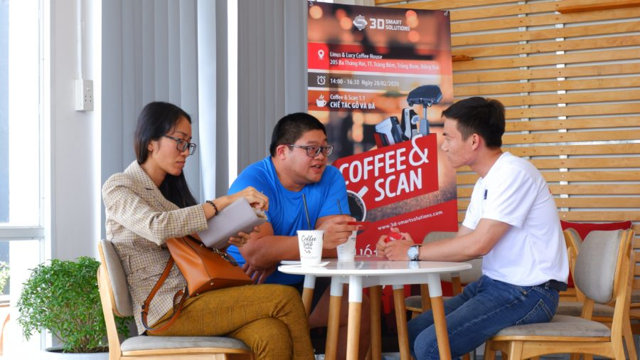 Coffee & scan