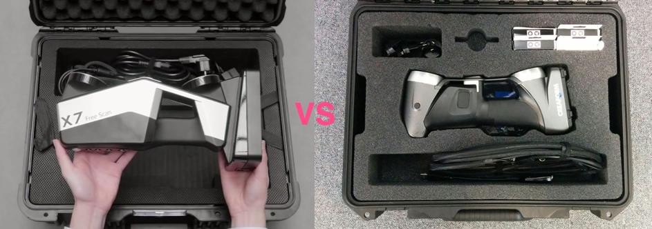 Freescan X7 vs Handyscan 700