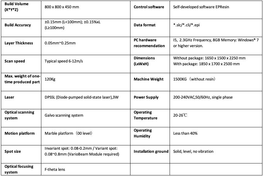 Máy in 3d EP-A800