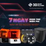 Dùng thử Máy in 3D miễn phí | Chính sách bán hàng mới nhất từ 3DS