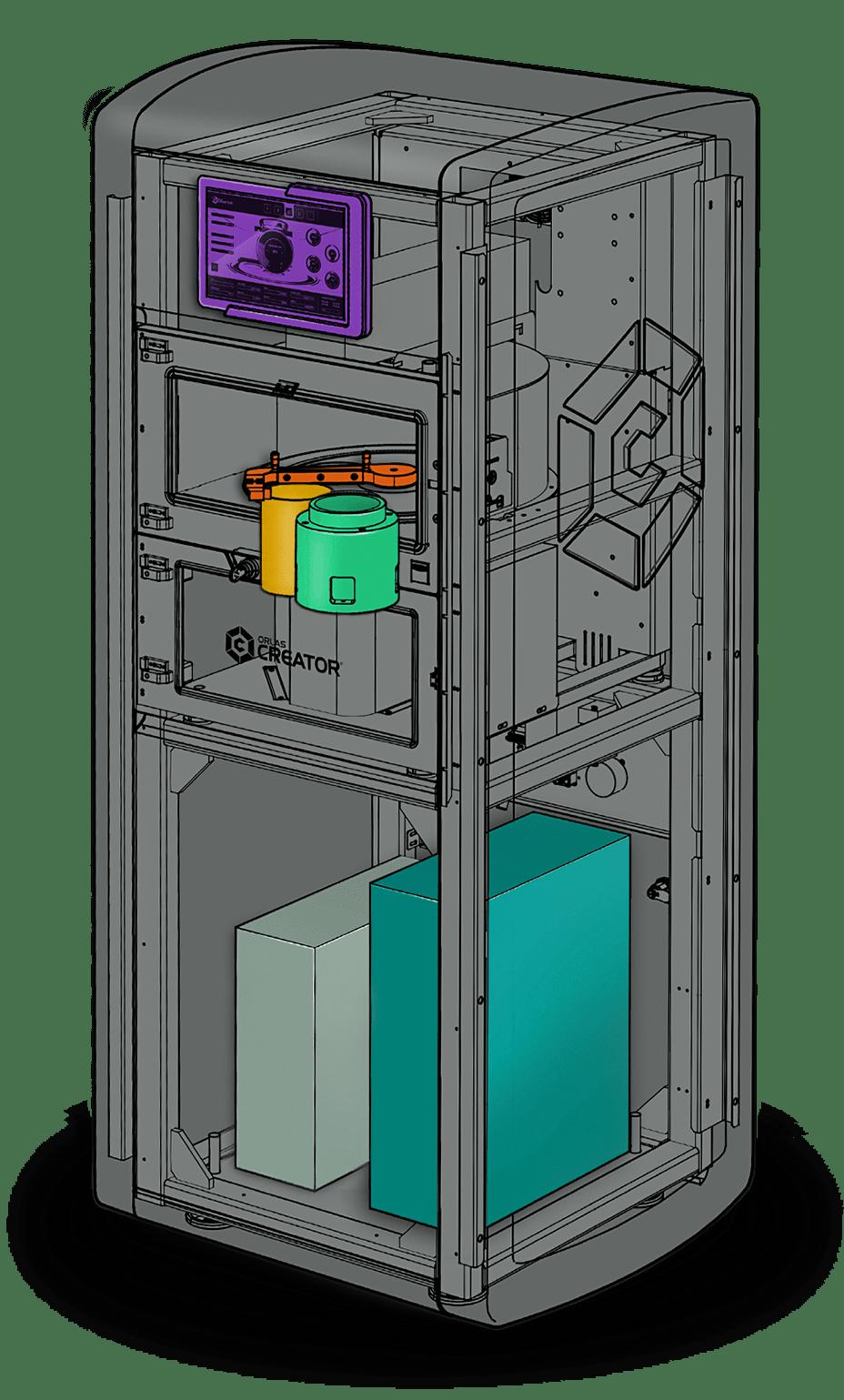 máy in kim loại Coherent Creator
