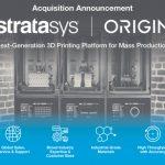 Stratasys mua lại Origin, đưa nền tảng sản xuất bồi đắp vào sản xuất polyme