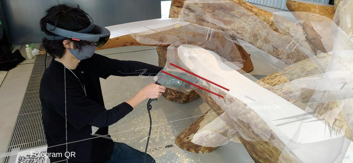 Quét 3D trong chế tác gỗ cong tự nhiên